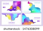 cosmic colorful background.... | Shutterstock .eps vector #1476308099