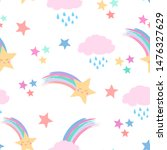 seamless repeat pattern in... | Shutterstock .eps vector #1476327629