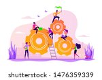 team building and leadership.... | Shutterstock .eps vector #1476359339