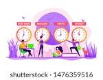 worldwide business ... | Shutterstock .eps vector #1476359516