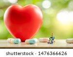 miniature people  senior... | Shutterstock . vector #1476366626