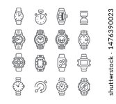 watch and smartwatch simple...   Shutterstock .eps vector #1476390023