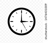 clock time icon vector... | Shutterstock .eps vector #1476431009