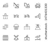 miscellaneous line icons set....   Shutterstock .eps vector #1476431330