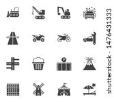 miscellaneous vector icons set  ... | Shutterstock .eps vector #1476431333