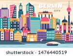 vector illustration of city in... | Shutterstock .eps vector #1476440519