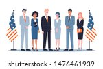 group of politician in business ... | Shutterstock .eps vector #1476461939