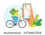 express delivery service vector ... | Shutterstock .eps vector #1476462356