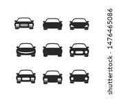 car icon vector sign isolated... | Shutterstock .eps vector #1476465086
