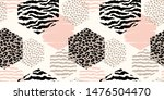 abstract geometric seamless... | Shutterstock .eps vector #1476504470