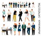 service queue. bank business... | Shutterstock .eps vector #1476511736