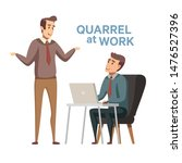 severe business competition ... | Shutterstock .eps vector #1476527396