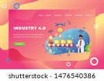 industry 4.0   web page header...