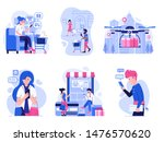 online store marketing and... | Shutterstock .eps vector #1476570620