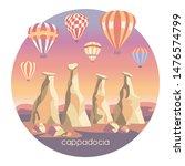 cappadocia  turkey. travel...   Shutterstock .eps vector #1476574799