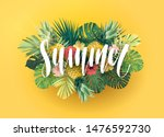 green and yellow summer... | Shutterstock .eps vector #1476592730