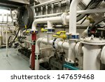 ships valves  main engine  ... | Shutterstock . vector #147659468