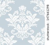 damask  floral pattern. the... | Shutterstock .eps vector #147661298