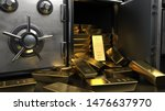 Fine Gold Bars 1000g In The...
