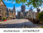 Medieval City Of Gent  Ghent ...