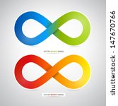 Colorful Vector Infinity Symbol