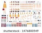 female office assistant avatar... | Shutterstock .eps vector #1476800549