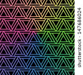 triangle color background.... | Shutterstock .eps vector #147686024