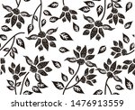 indonesian batik motifs with... | Shutterstock .eps vector #1476913559
