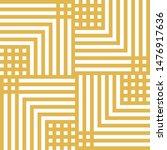 vector geometric lines seamless ... | Shutterstock .eps vector #1476917636