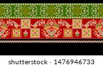seamless bandanna  border... | Shutterstock .eps vector #1476946733