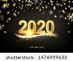 2020 new year background.... | Shutterstock .eps vector #1476959633
