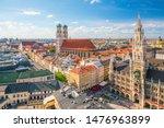 munich skyline with ...   Shutterstock . vector #1476963899