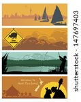 New Zealand Landscapes  Vector