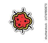 bacterium doodle icon  vector... | Shutterstock .eps vector #1476980873
