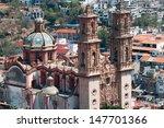 santa prisca parish in taxco de ... | Shutterstock . vector #147701366