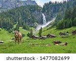 Switzerland Landscape Panorama...