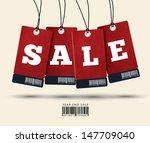 sale tags design | Shutterstock .eps vector #147709040