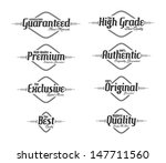 vintage style product label... | Shutterstock .eps vector #147711560
