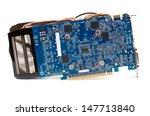 modern computer graphics card.... | Shutterstock . vector #147713840