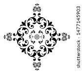 flower mandala. printable... | Shutterstock . vector #1477145903