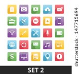 universal vector icons set 2