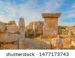 talaiot y taula de trepuco... | Shutterstock . vector #1477173743
