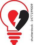 light love electric power... | Shutterstock .eps vector #1477199009