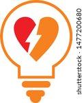 light power love logo edudatin...   Shutterstock .eps vector #1477200680