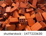 Pile Of Six Hole Bricks