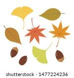 Illustration Of Autumn Leaves ...