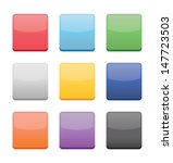 blank icons templates for web...   Shutterstock .eps vector #147723503