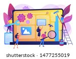 technical support  programming... | Shutterstock .eps vector #1477255019