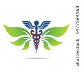 medical symbol created using... | Shutterstock .eps vector #1477264163