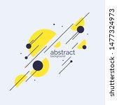 abstract background with... | Shutterstock .eps vector #1477324973